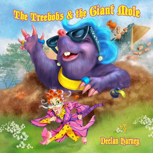 The Treebobs and the Giant Mole audiobook cover art