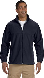 Harriton Men's 8 oz. Full-Zip Fleece