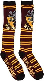 Juniors Knee High Socks (Gryffindor Maroon/Gold) 9-11