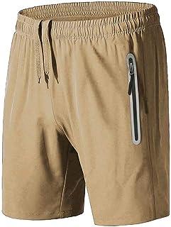 BIYLACLESEN Soccer Shorts Men Athletic Shorts Men Volleyball Shorts Mens Khaki Shorts Mens Running Shorts Hiking Shorts Me...