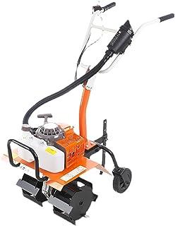QILIN Cultivator, 2 Strokes / 4 Stroke Micro Tillage Machine, Gasoline Tiller/Cultivator, Tillage Width 43CM, Complete Acc...