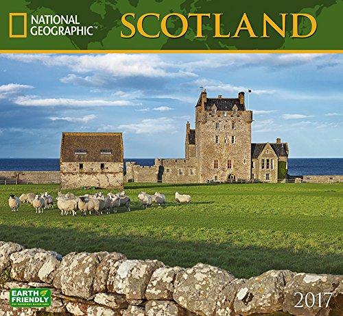 National Geographic Scotland 2017 Wall Calendar