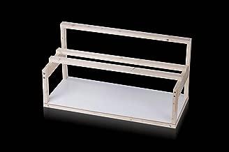 wooden gpu rig