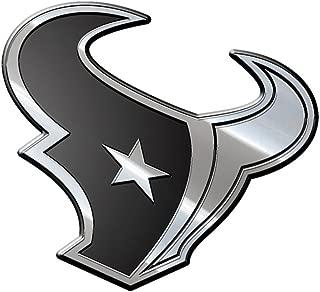 NFL Houston Texans Premium Metal Auto Emblem