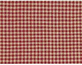 Rustic Red 2 Homespun Cotton Plaid Fabric by JCS - Sold by The Yard