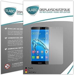 Slabo 2 x displayfolie för Huawei Nova Plus displayskyddsfolie tillbehör No Reflexion MATT
