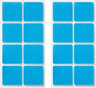 くりぴた はがせるポスターテープ 壁紙用 (M) 28mm角 16片入 (8片×2シート) 掲示用 壁紙に「しっかり貼れる」「キレイにはがせる」両面テープ
