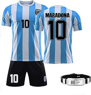 GRXIN Maradona Diego(Napoli Et Argentino) Camiseta De Fútbol 1986 Argentina World Cup Legend Camiseta De Fútbol Camiseta R...
