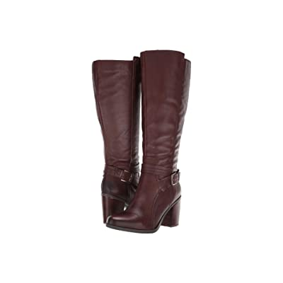 Naturalizer Kelsey Wide Calf (Chocolate Leather) Women