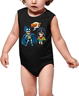 Avengers Parodie Batman Avengers Lustiges Schwarz Damen T-Shirt Tank top Deadpool und Spider-Man Ref:1062