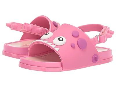 Mini Melissa Mini Beach Slide Din (Toddler/Little Kid) (Pink) Girls Shoes