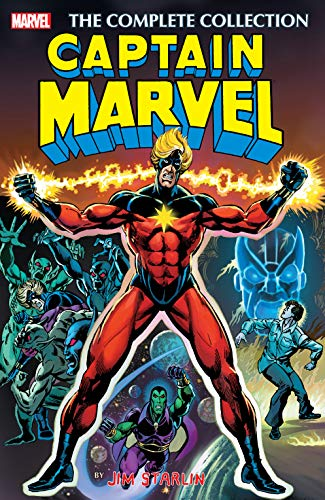 Captain Marvel by Jim Starlin: The Complete Collection (Captain Marvel (1968-1979)) (English Edition)