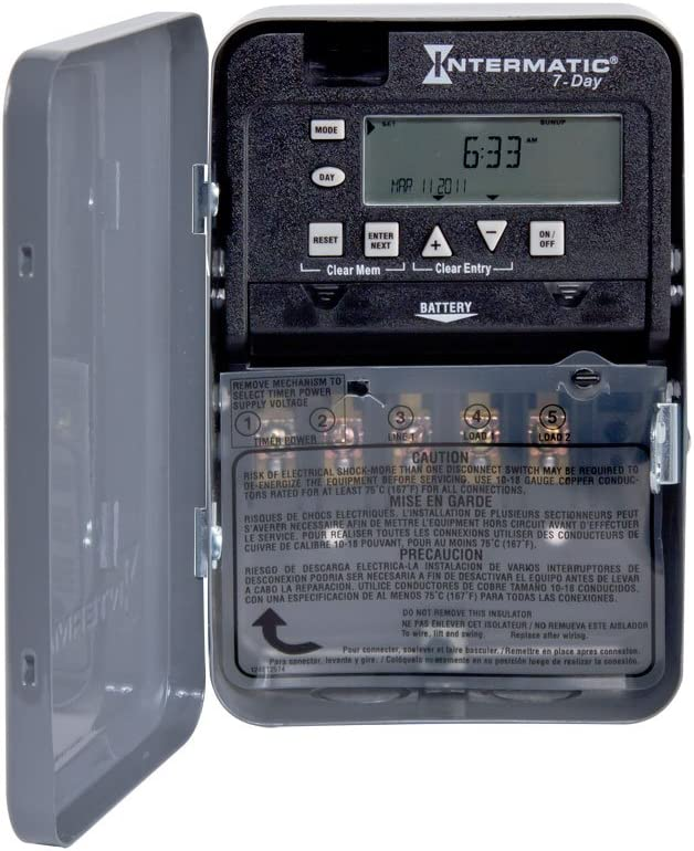 Intermatic Max 66% OFF Regular store ET1715C 7-Day 20 30-Amps Electronic SPDT Time Switch