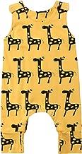 giraffe print onesie baby