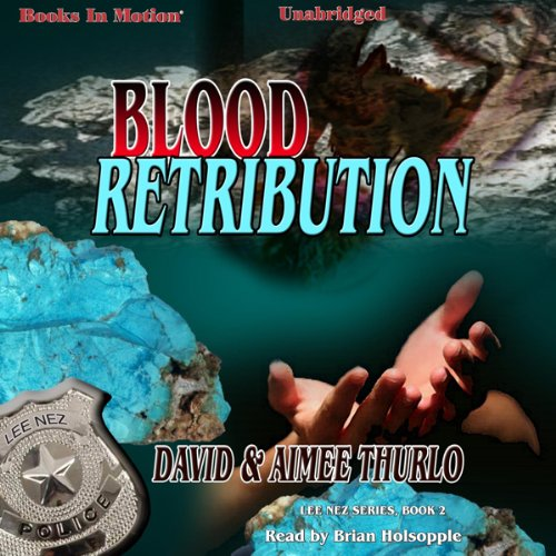 Blood Retribution audiobook cover art
