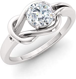 diamond accent engagement rings