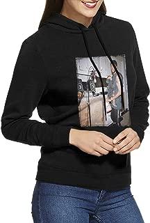 Womens 6LACK-East Atlanta Love Letter Sweatshirts Hoodie Pullover