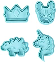 Rosanna PANSINO by Wilton Stamp Cookie Cutters, Animals