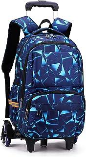 Housse Protection Offerte Cadeaux Scolaire Trolley Bag Fille Garcon Sac à Dos avec roulettes Cartable Roulette Bagages Cab...