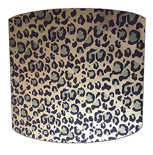DELPH DESIGN LIGHTING LTD 8 Inch luipaard print drum lampenkap Voor een Plafond Licht