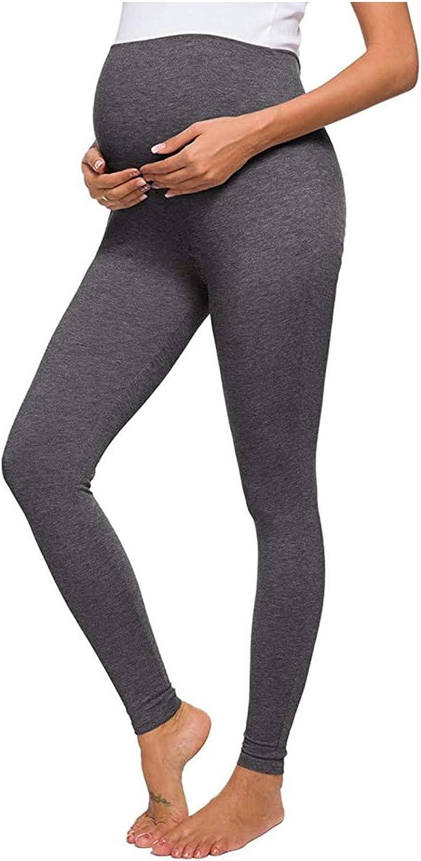 Hotkey Yoga Pants for Women, High-Waist Pregnant Elastic Leggings Pure Color Fitness Sculpting Exercise Yoga Pants