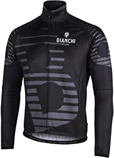 Bianchi Pro Team Long Sleeve Cycling Jersey Breathable Bicycle Cycling Top with Rear Pockets BX0027