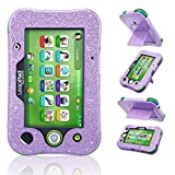 ACdream LeapPad Ultimate Case, Leather Tablet Case for LeapPad Kids Learning Tablet(2017 Release), (Purple Star of Paris)