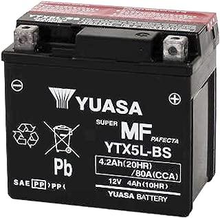 YUASA 台湾 ユアサ バイク用 バッテリー 液別 YTX5L-BS ( CTX5L-BS / GTX5L-BS / FTX5L-BS / DTX5L-BS 互換 )