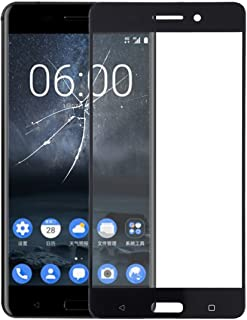 WTYD Mobile Phone Lens Glass Front Screen Outer Glass Lens for Compatible with Nokia 6 TA-1000 TA-1003 TA-1021 TA-1025 TA-...