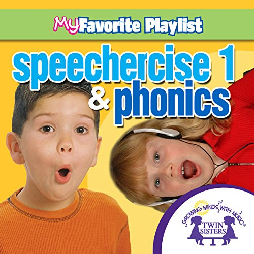 Speechercise 1 and Phonics audiobook cover art