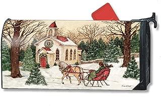 MailWraps Religious Christmas MailWrap Mailbox Cover 00130