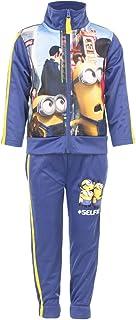 Minion Boys Tracksuit Set Sportswear - Blue - 2-3 Years