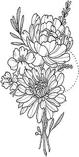CQHUI Tijdelijke Armband Tattoos Waterdichte Tijdelijke Tattoo Sticker Bloem Lotus Tattoo Mouw Vrouwen Pols Arm Mouwen Tat...