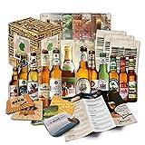 """""""12 Bier Spezialitäten aus Deutschland"""" Geschenkidee für Männer INKL. Bierdeckel +..."""