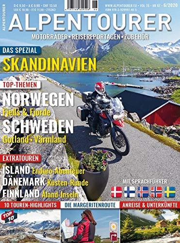 ALPENTOURER SPEZIAL SKANDINAVIEN: Motorrad-Touren in Nord-Europa (ALPENTOURER SPEZIAL: Motorrad-Reiseführer im Magazin-Format)