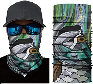 Dust Fishing Pgojuni Seamless Face Shield Camouflage Neck Gaiter Windproof UV Protection for Motorcycling Riding,Outdoors