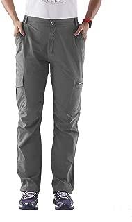 Nonwe Women's Outdoor Water-Resistant Quick Drying Lightweight Cargo Pants