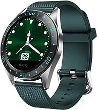 Smart Watch Waterdicht 1.22Kleurenscherm Fitnesshorloge Hartslagmeter Oproepherinnering Heren Dames Smartwatch