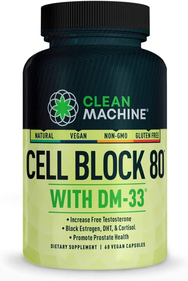 Cell Block 80 - Natural Testosterone E Support Supplement Vegan Dealing full Phoenix Mall price reduction