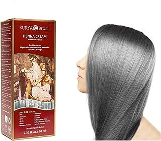 Surya Brasil Products Henna Cream, Silver Fox, 2.37 Fluid Ounce