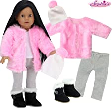 American girl doll coat m254