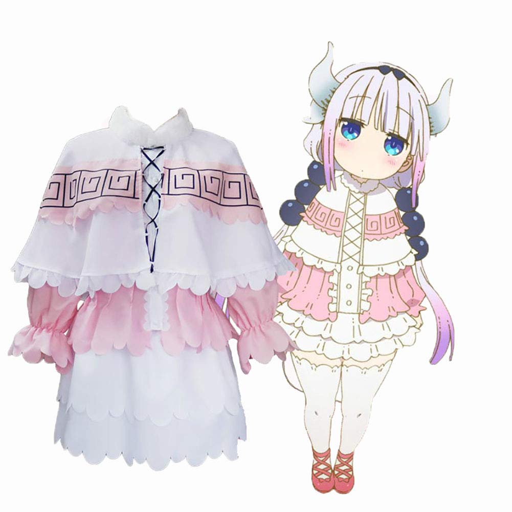 Anime Mujer Lolita Cosplay Costume, Maid Largo Mucama Lindo Vestido Camisa + Falda + Bufanda + Calcetines para Halloween Fiesta Adulto Navidad Cumpleaños,A,S: Amazon.es: Jardín