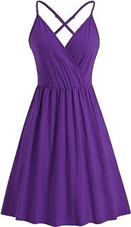 Short Purple Summer Dress,Plain Purple Dress,Lilac Dresses,Purple Casual Dresses,purple summer dress,Purple Dresses,purple summer dress,