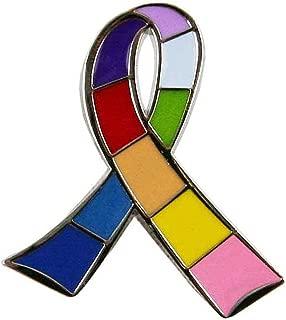 Awareness Multi Ribbon Pin