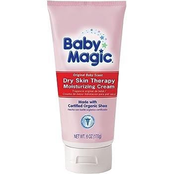 Amazon Com Baby Magic Dry Skin Therapy Moisturizing Cream Original Baby Scent 6 Ounces Health Personal Care