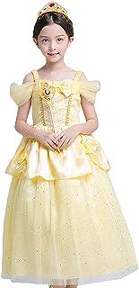 فساتين ملابس الأطفال من بيسويتي زي أميرة فستان هالوين للفتيات