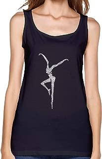 Womens Sleeveless T Shirt, Dave Matthews Band Workout Tank Tops Sleeve Shirt for Sport Running Yoga