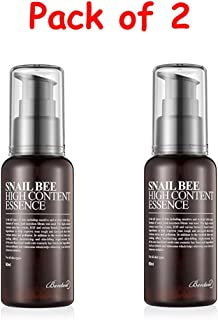 Benton Snail Bee High Content Essence [Pack of Two] with Ponytail Elastics