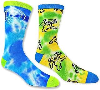Ripple Junction Grateful Dead Tie Dye - Pack de 2 pares de calcetines