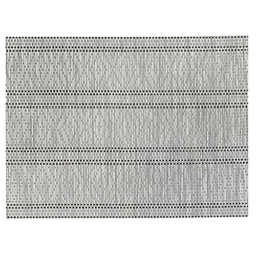 Winkler - Set de table Panama - 33x45 cm - Napperon rectangle - Facile à nettoyer - Résistant et déperlant - Tissage jacquard élégant